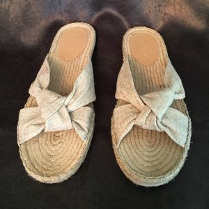 JCrew fabric slides